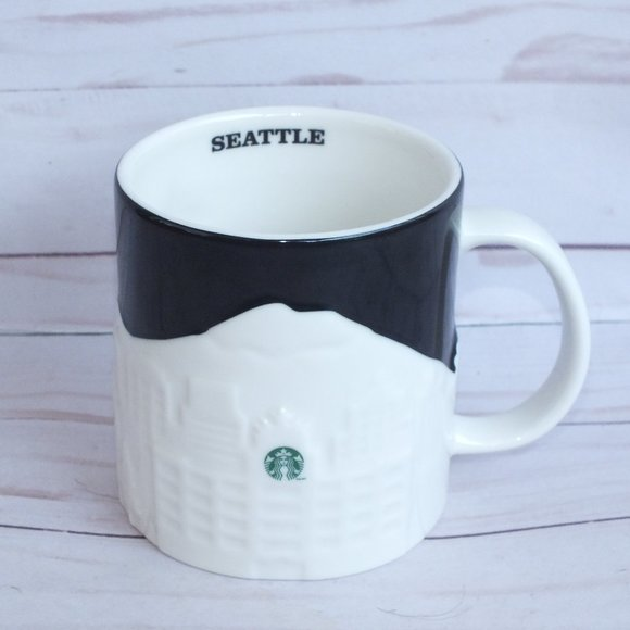Starbucks Seattle Relief Mug City Collection 16 Oz